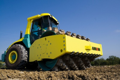 Ammann's Heavy Compaction Roller