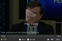 Finance Minister Jim Flaherty