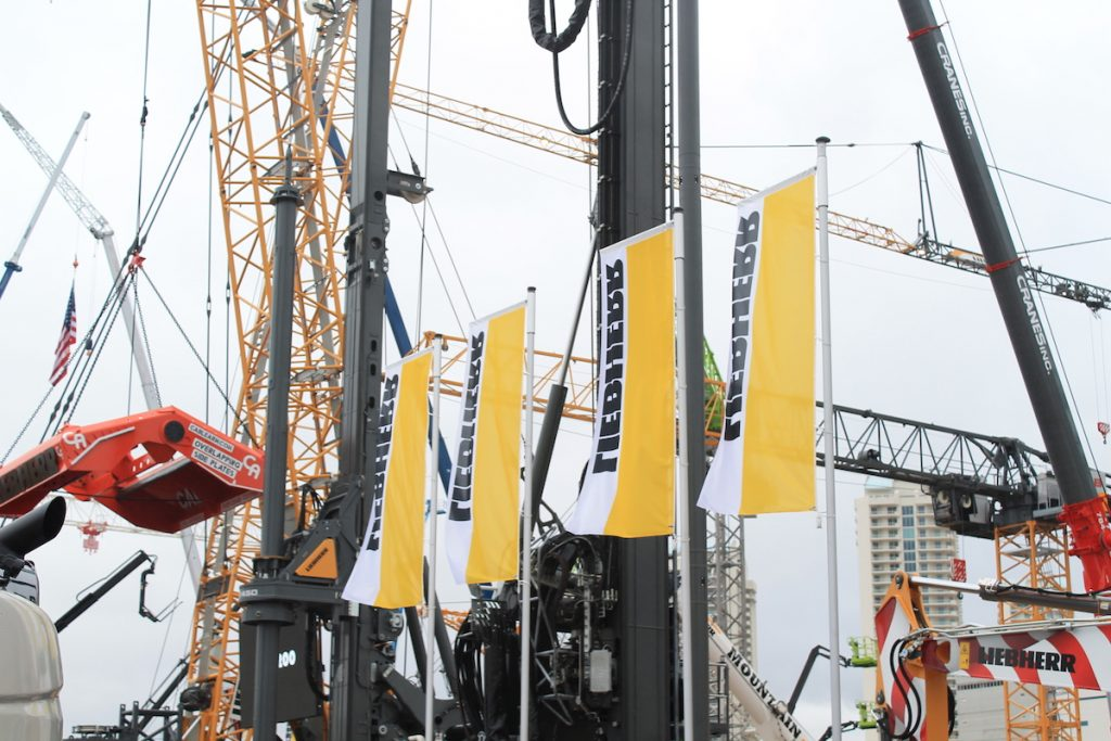 Liebherr unveils new tech and innovations at CONEXPO/CON-AGG