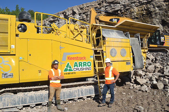 Spotlight on Arro Crushing for its green techniques