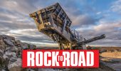 heavy equipment rock rail road aggregate