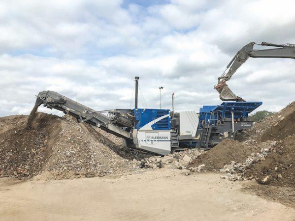 MOBICAT crusher equipment Kleeman plant