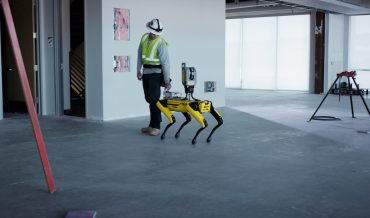 Trimble Spot follow robot