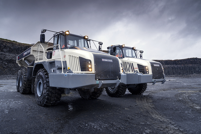 Terex Trucks Hillhead Digital launch hauler